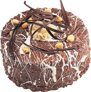pasta satisi 4 ile 6 kisilik çikolatali yas pasta  Ardahan İnternetten çiçek siparişi