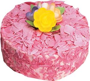 pasta siparisi 4 ile 6 kisilik framboazli yas pasta  Ardahan çiçek yolla