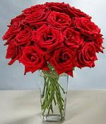 Ardahan çiçek siparişi sitesi  Sevdiklerinize özel ürün 12 adet cam içerisinde kirmizi gül  Ardahan hediye çiçek yolla