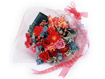Karisik buket çiçek modeli sevilenlere  Ardahan uluslararası çiçek gönderme
