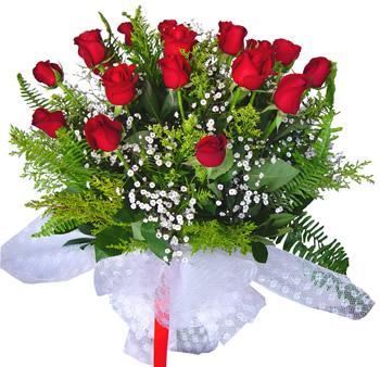 11 adet gösterisli kirmizi gül buketi  Ardahan internetten çiçek satışı