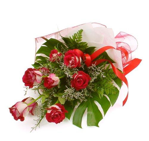 çiçek gönder 7 adet kirmizi gül buketi  Ardahan kaliteli taze ve ucuz çiçekler