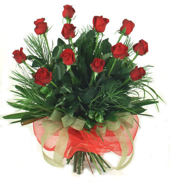 Çiçek yolla 12 adet kirmizi gül buketi  Ardahan güvenli kaliteli hızlı çiçek