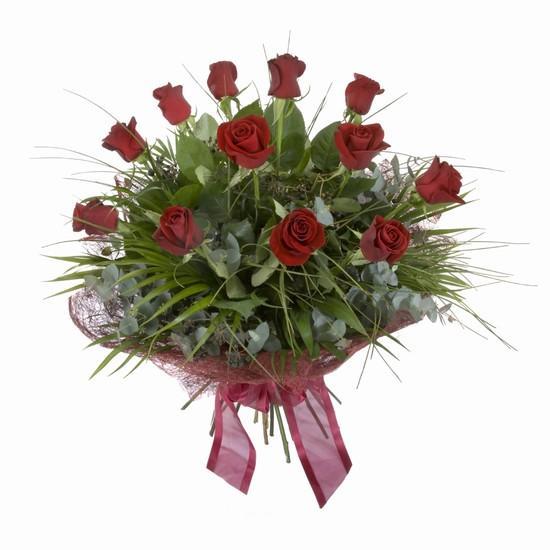 Etkileyici buket 11 adet kirmizi gül buketi  Ardahan internetten çiçek satışı