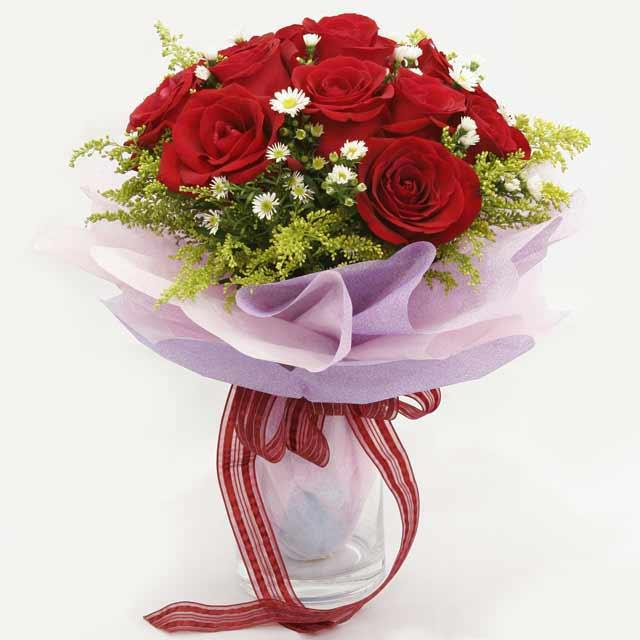 Çiçek gönderme estetikliginiz 11 gül buket  Ardahan çiçekçi mağazası