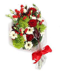Karisik mevsim buketi çiçek tanzimi  Ardahan internetten çiçek siparişi