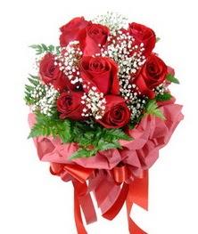 9 adet en kaliteli gülden kirmizi buket  Ardahan çiçek servisi , çiçekçi adresleri