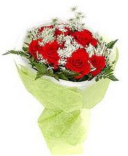 Ardahan çiçek , çiçekçi , çiçekçilik  7 adet kirmizi gül buketi tanzimi