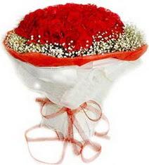 Ardahan çiçekçiler  41 adet kirmizi gül buketi