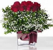 Ardahan internetten çiçek satışı  mika yada cam vazo içerisinde 7 adet gül