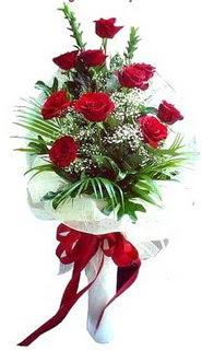 Ardahan ucuz çiçek gönder  10 adet kirmizi gül buketi demeti