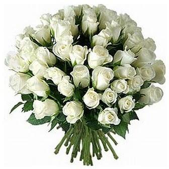 Ardahan çiçek servisi , çiçekçi adresleri  33 adet beyaz gül buketi