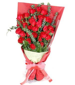 Ardahan çiçek gönderme  37 adet kırmızı güllerden buket