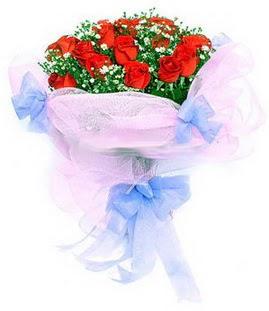 Ardahan çiçek siparişi sitesi  11 adet kırmızı güllerden buket modeli