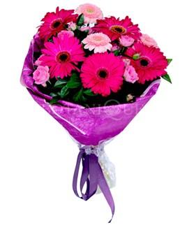 Ardahan çiçek siparişi sitesi  karışık gerbera çiçeği buketi