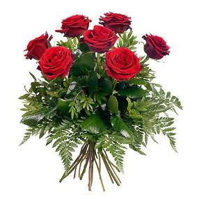 Ardahan online çiçek gönderme sipariş  7 adet kırmızı gülden buket