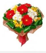 1 demet karışık buket  Ardahan hediye sevgilime hediye çiçek