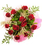 12 adet kırmızı gül buketi  Ardahan 14 şubat sevgililer günü çiçek