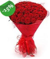 51 adet kırmızı gül buketi özel hissedenlere  Ardahan çiçek siparişi sitesi