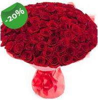 Özel mi Özel buket 101 adet kırmızı gül  Ardahan anneler günü çiçek yolla