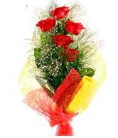 5 li kırmızı gül buketi  Ardahan internetten çiçek satışı