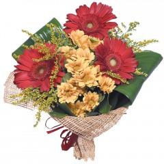 karışık mevsim buketi  Ardahan çiçekçi mağazası