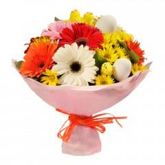 Karışık mevsim buketi Mevsimsel çiçek  Ardahan internetten çiçek siparişi