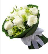 9 adet beyaz gül buketi  Ardahan çiçek siparişi sitesi
