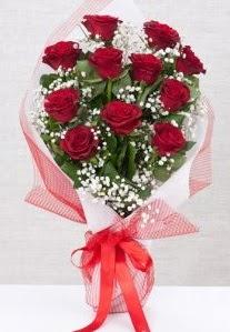 11 kırmızı gülden buket çiçeği  Ardahan 14 şubat sevgililer günü çiçek