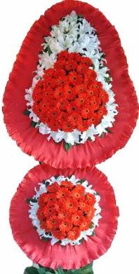 Ardahan online çiçek gönderme sipariş  Çift katlı kaliteli düğün açılış sepeti