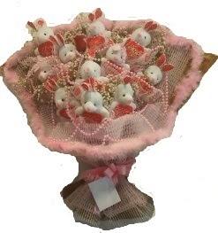 12 adet tavşan buketi  Ardahan çiçek mağazası , çiçekçi adresleri