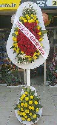 Çift katlı düğün nikah açılış çiçek modeli  Ardahan çiçekçi mağazası