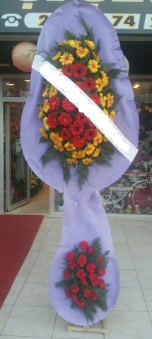 Çift katlı nikah düğüne çiçek modeli  Ardahan internetten çiçek siparişi