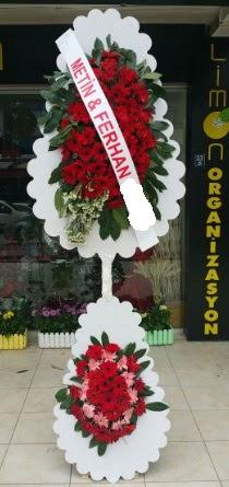 Çift katlı düğün nikah çiçeği modeli  Ardahan çiçek siparişi sitesi