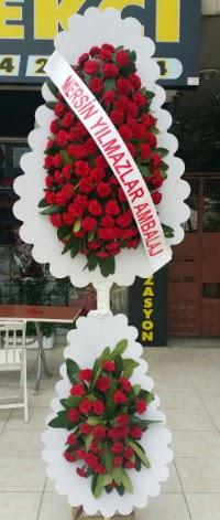 Çift katlı düğün nikah çiçeği modeli  Ardahan hediye çiçek yolla