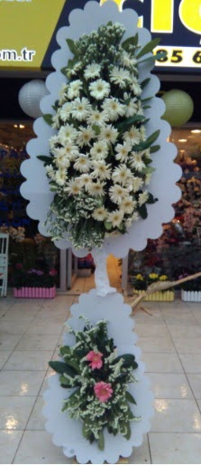 Çift katlı düğün nikah açılış çiçeği  Ardahan çiçekçi telefonları