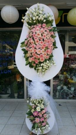 Çift katlı özel şahane sepet çiçeği  Ardahan çiçekçi telefonları