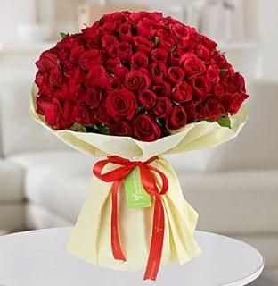 101 adet kırmızı gül buketi koca demet  Ardahan internetten çiçek siparişi