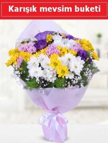 Karışık Kır Çiçeği Buketi  Ardahan güvenli kaliteli hızlı çiçek