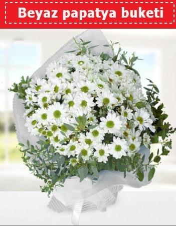 Beyaz Papatya Buketi  Ardahan 14 şubat sevgililer günü çiçek
